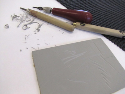 Linocuts Step by Step - Elizabeth Banfield Linocuts